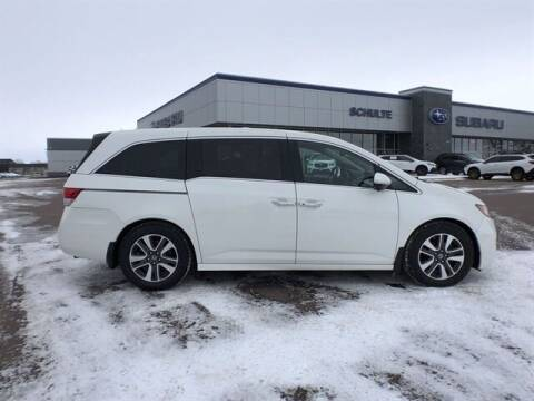 2016 Honda Odyssey for sale at Schulte Subaru in Sioux Falls SD