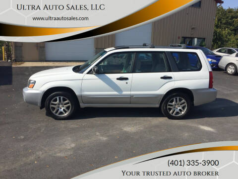 2005 Subaru Forester for sale at Ultra Auto Sales, LLC in Cumberland RI