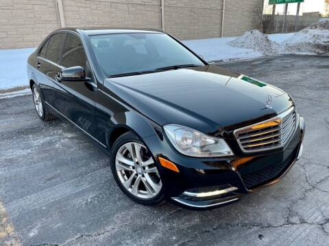 2013 Mercedes-Benz C-Class for sale at EMH Motors in Rolling Meadows IL