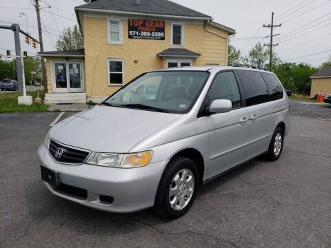 2004 Honda Odyssey for sale at Top Gear Motors in Winchester VA