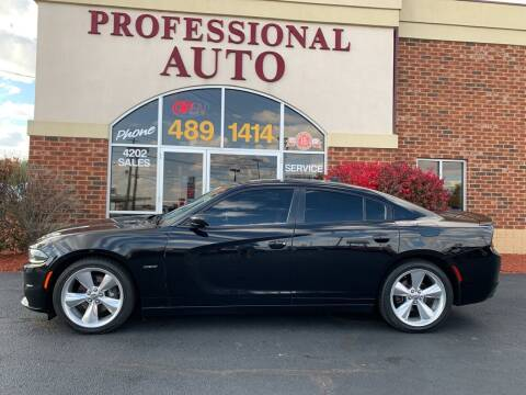 2015 Dodge Charger for sale at Professional Auto Sales & Service in Fort Wayne IN