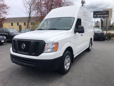 2018 Nissan NV Cargo for sale at RT28 Motors in North Reading MA