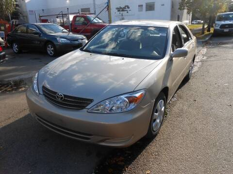 2003 Toyota Camry for sale at N H AUTO WHOLESALERS in Roslindale MA