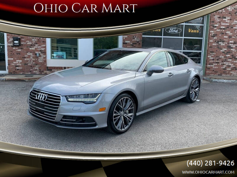 2016 Audi A7 for sale at Ohio Car Mart in Elyria OH
