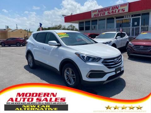 2018 Hyundai Santa Fe Sport for sale at Modern Auto Sales in Hollywood FL