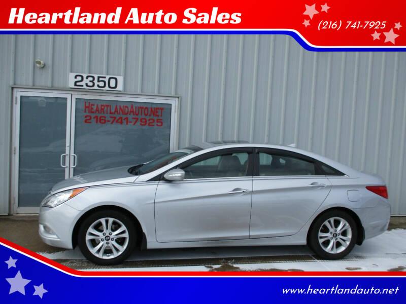 2013 Hyundai Sonata for sale at Heartland Auto Sales in Medina OH