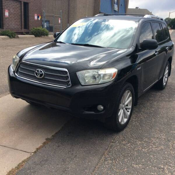 2008 Toyota Highlander Hybrid for sale at AROUND THE WORLD AUTO SALES in Denver CO
