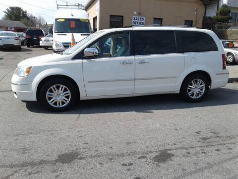 2010 Chrysler Town and Country for sale at Nelsons Auto Specialists in New Bedford MA