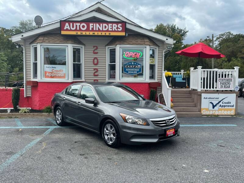 2012 Honda Accord for sale at Auto Finders Unlimited LLC in Vineland NJ