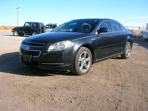 2009 Chevrolet Malibu Hybrid for sale at HORSEPOWER AUTO BROKERS in Fort Collins CO