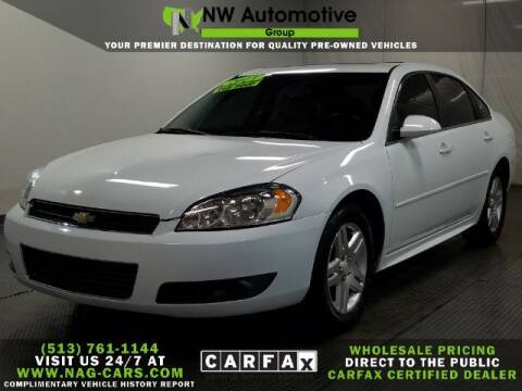2013 Chevrolet Impala for sale at NW Automotive Group in Cincinnati OH