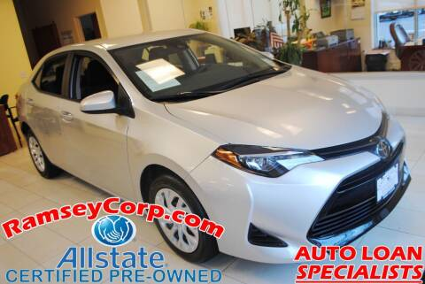 2019 Toyota Corolla for sale at Ramsey Corp. in West Milford NJ