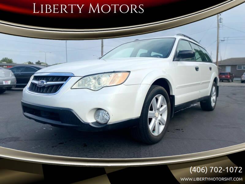 2009 Subaru Outback for sale at Liberty Motors in Billings MT