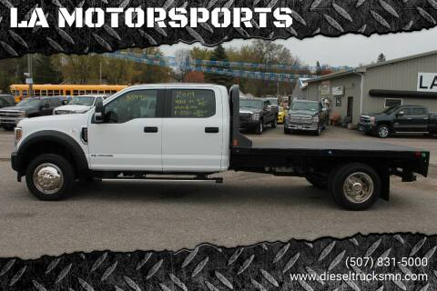 2019 Ford F-550 Super Duty for sale at LA MOTORSPORTS in Windom MN
