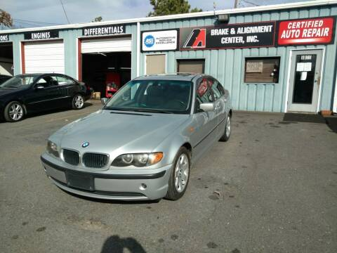 2004 BMW 3 Series for sale at B & A Automotive Sales in Charlotte NC