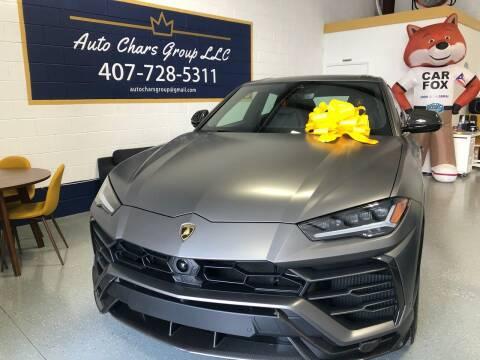 2021 Lamborghini Urus for sale at Auto Chars Group LLC in Orlando FL
