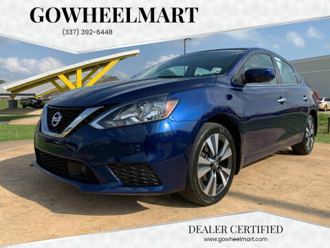 2019 Nissan Sentra for sale at GOWHEELMART in Leesville LA