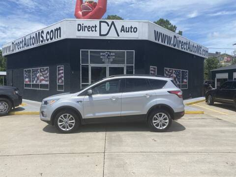 2018 Ford Escape for sale at Direct Auto in D'Iberville MS