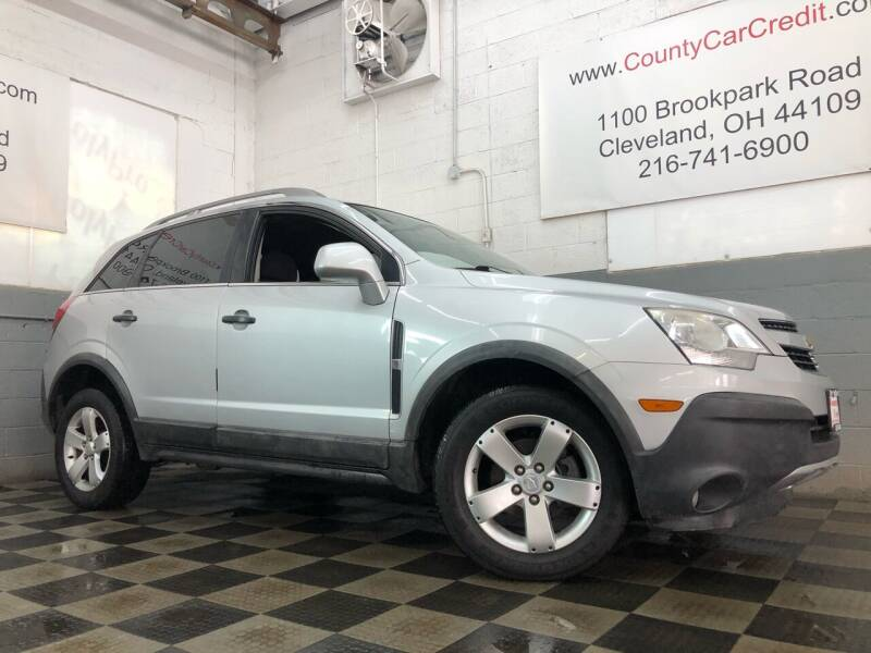 2012 Chevrolet Captiva Sport for sale at County Car Credit in Cleveland OH