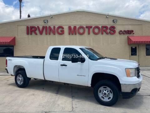 2012 GMC Sierra 2500HD for sale at Irving Motors Corp in San Antonio TX