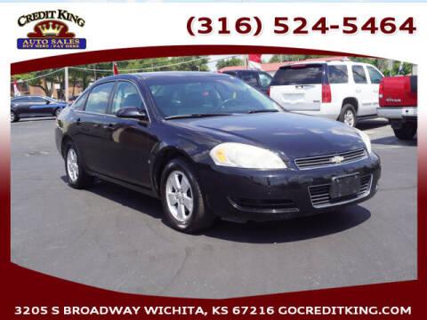 2008 Chevrolet Impala for sale at Credit King Auto Sales in Wichita KS