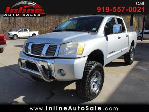2005 Nissan Titan for sale at Inline Auto Sales in Fuquay Varina NC