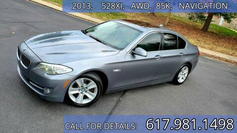 2013 BMW 5 Series for sale at Wheeler Dealer Inc. in Acton MA