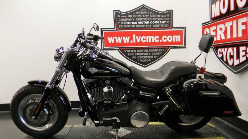 2009 Harley-Davidson DYNA FAT BOB for sale at Certified Motor Company in Las Vegas NV