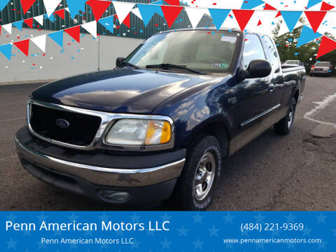 2003 Ford F-150 for sale at Penn American Motors LLC in Allentown PA
