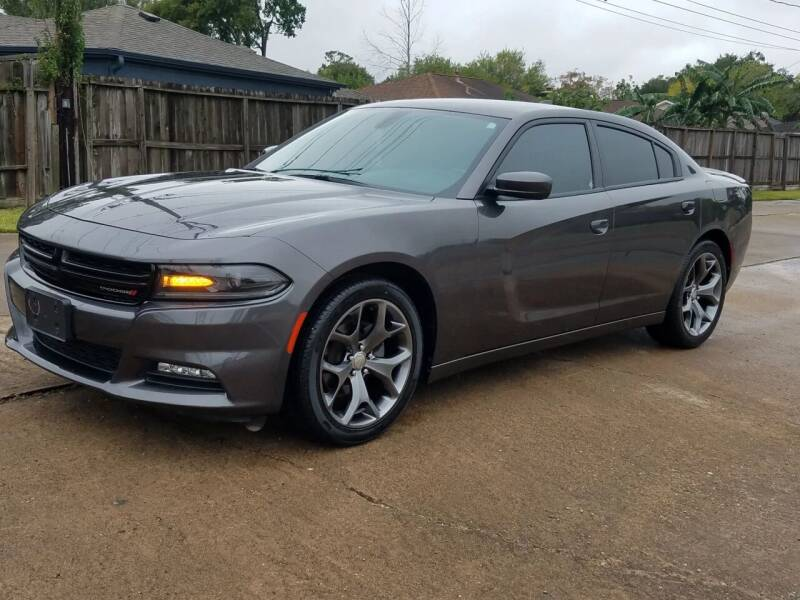 2015 Dodge Charger for sale at MOTORSPORTS IMPORTS in Houston TX