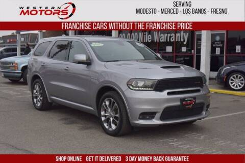 2020 Dodge Durango for sale at Choice Motors in Merced CA