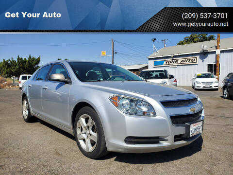 2012 Chevrolet Malibu for sale at Get Your Auto in Ceres CA