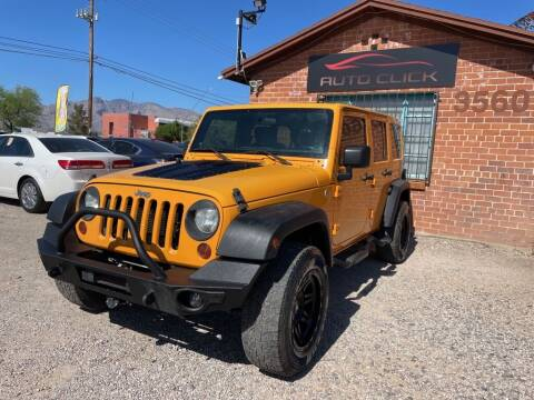2012 Jeep Wrangler Unlimited for sale at Auto Click in Tucson AZ