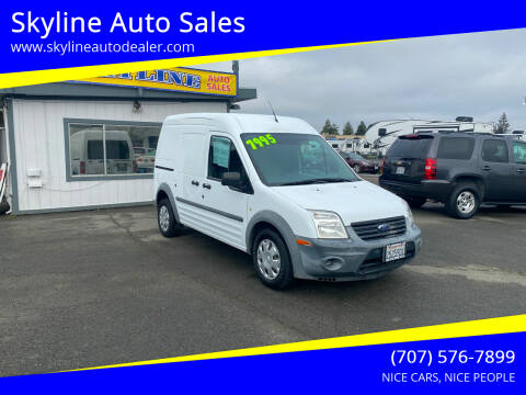 2011 Ford Transit Connect for sale at Skyline Auto Sales in Santa Rosa CA