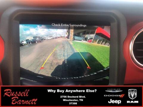 2021 Jeep Wrangler Unlimited for sale at Russell Barnett Chrysler Dodge Jeep Ram in Winchester TN
