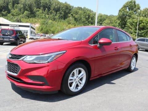 2017 Chevrolet Cruze for sale at RUSTY WALLACE KIA OF KNOXVILLE in Knoxville TN