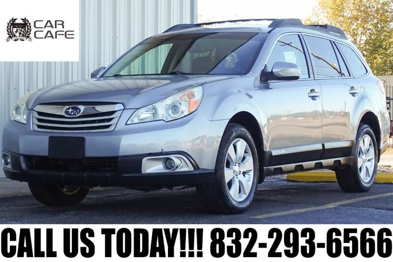 2010 Subaru Outback for sale at CAR CAFE LLC in Houston TX
