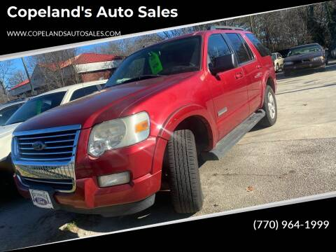 2008 Ford Explorer for sale at Copeland's Auto Sales in Union City GA