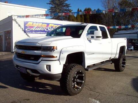 2016 Chevrolet Silverado 1500 for sale at Auto Pro Auto Sales in Lewiston ME