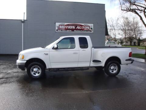 1999 Ford F-150 for sale at Motion Autos in Longview WA