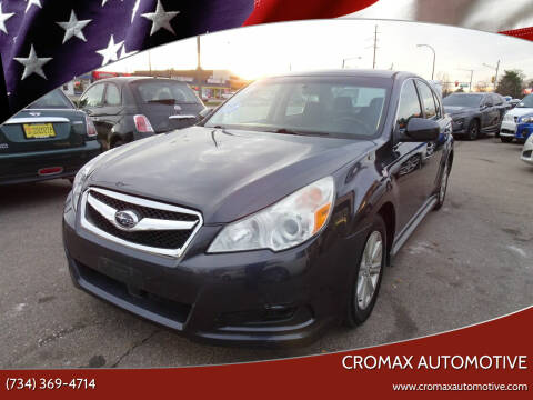 2010 Subaru Outback for sale at Cromax Automotive in Ann Arbor MI