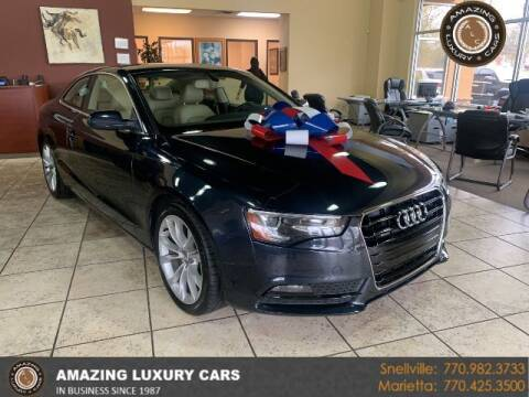 2013 Audi A5 for sale at Amazing Luxury Cars in Snellville GA