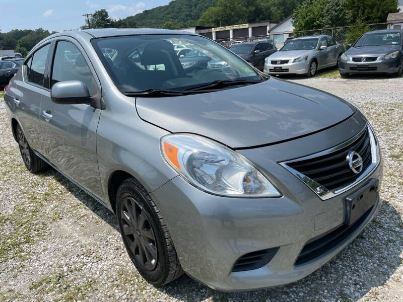 2014 Nissan Versa for sale at Ron Motor Inc. in Wantage NJ