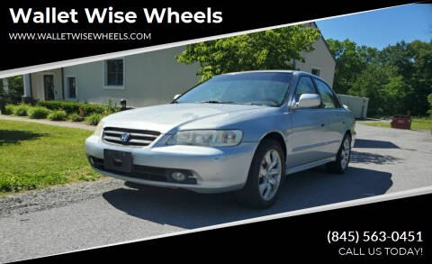 2001 Honda Accord for sale at Wallet Wise Wheels in Montgomery NY