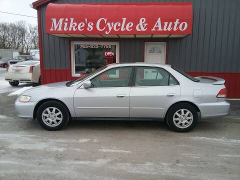 2002 Honda Accord for sale at MIKE'S CYCLE & AUTO in Connersville IN