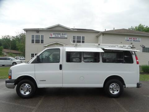 2006 Chevrolet Express Cargo for sale at SOUTHERN SELECT AUTO SALES in Medina OH