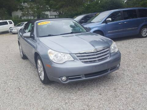 2010 Chrysler Sebring for sale at Jack Cooney's Auto Sales in Erie PA