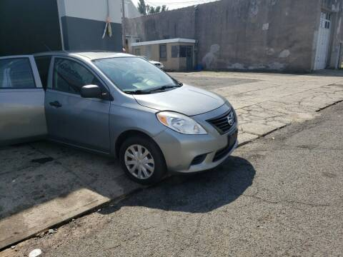 2014 Nissan Versa for sale at O A Auto Sale in Paterson NJ