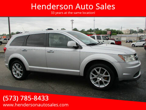 2011 Dodge Journey for sale at Henderson Auto Sales in Poplar Bluff MO