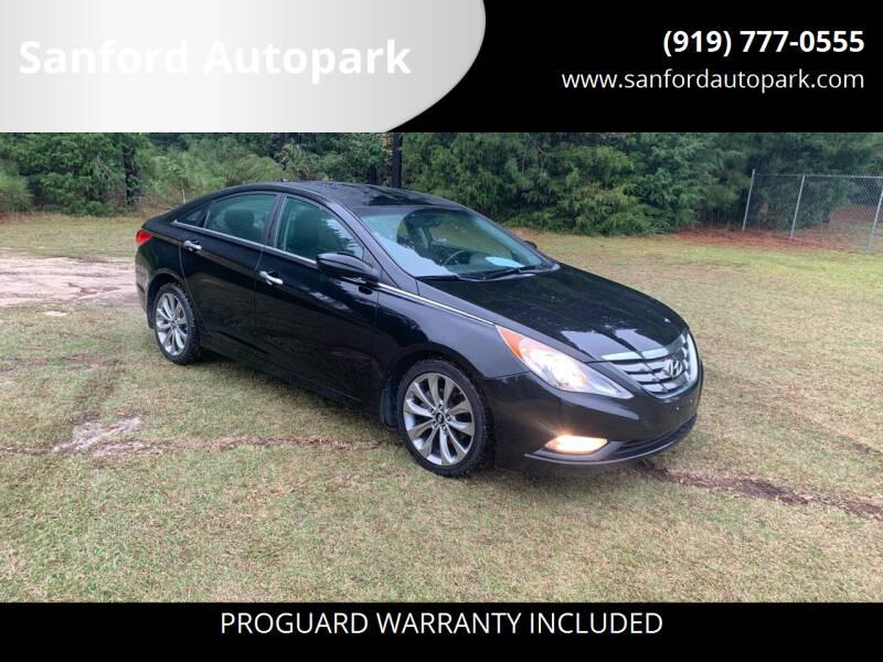 2011 Hyundai Sonata for sale at Sanford Autopark in Sanford NC